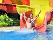 Reisregisseur - reizen met kinderen - waterglijbaan