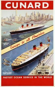 Reisregisseur - Anne Mare van Linde - cruise -Queen Elizabeth - Cunard