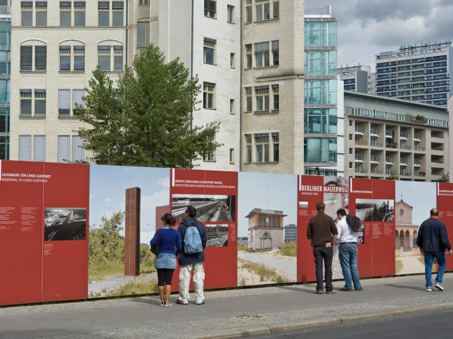 informatie Berlijnse muur