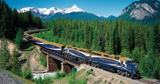 Mountaineer trein Canada