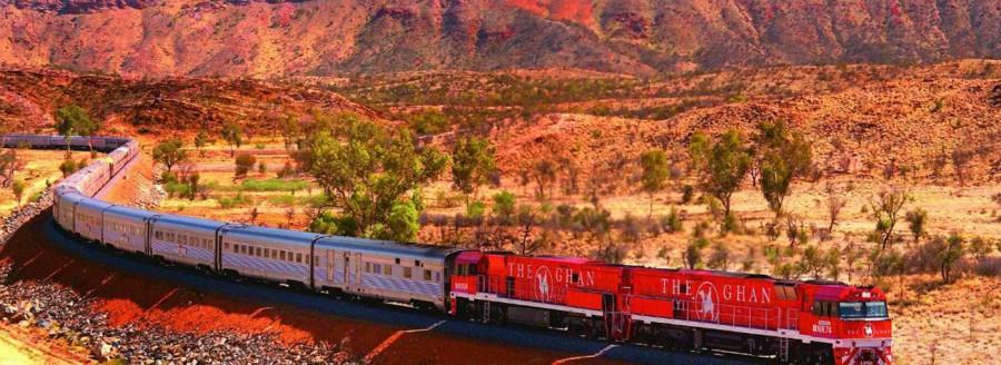 trein Australie - Ghan
