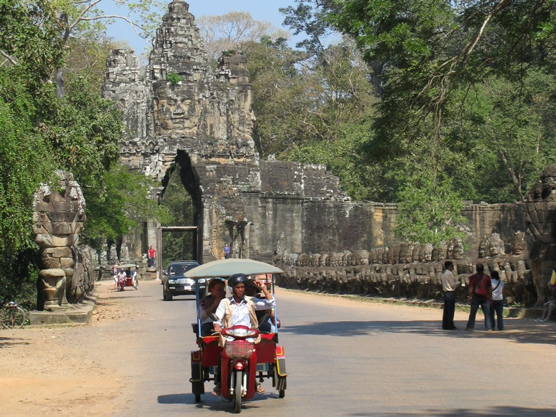 Fietstocht Siem Reap Cambodja