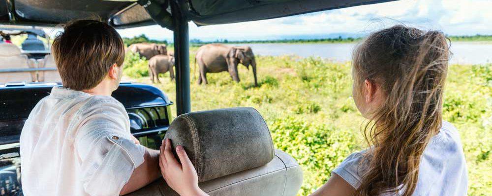 Gezinsvakantie naar Sri Lanka of Indonesië