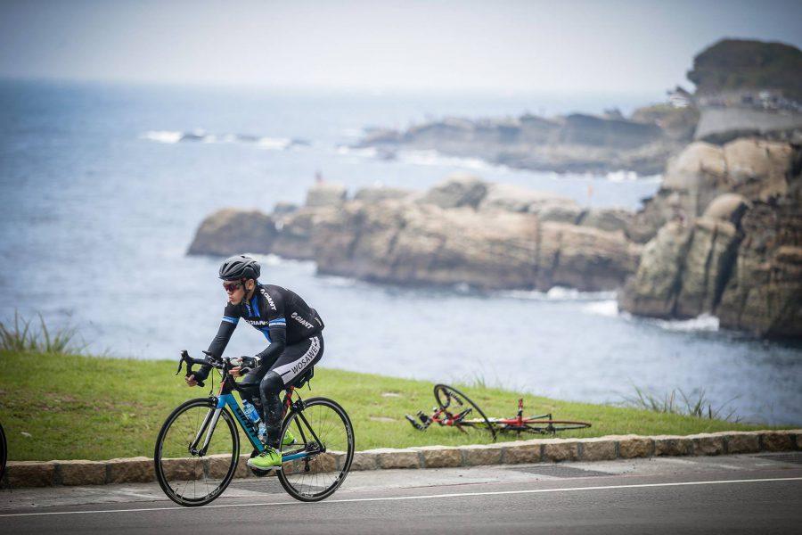 fietsen tijdens individuele rondreis naar taiwan verzorgd door persoonlijk reisadviseur krommenie